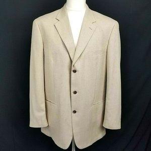 Alfani Men's 3 Button Sport Coat Blazer Jacket 42L